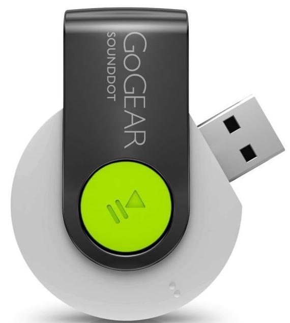 Philips SA4DOT02WN37 GoGEAR SoundDot MP3 Players