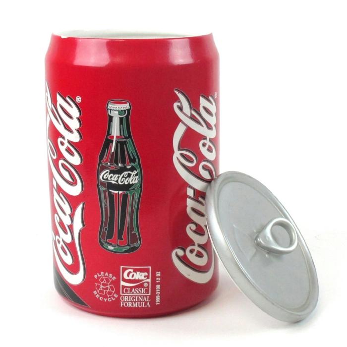 Porcelain Coca Cola Cookie Jar