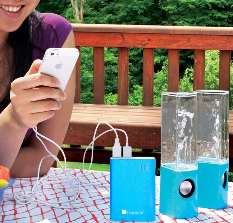 Portable External Battery Charger Pack