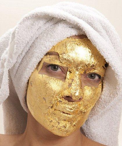 Pure 24k Gold Leaf Skin Care