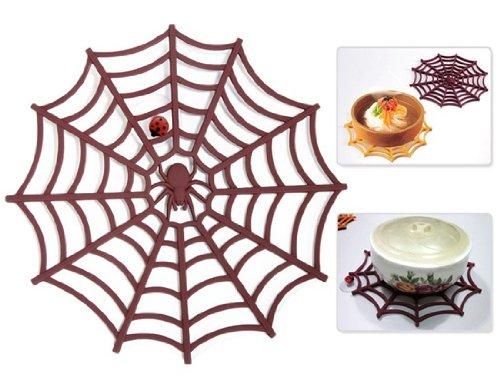 Spider Web Design Silicone Insulation Table Pad