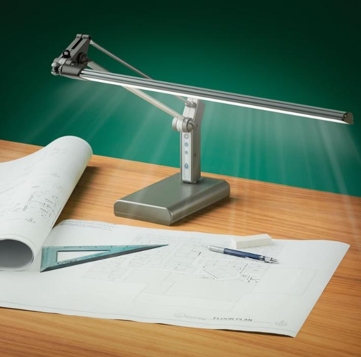 The Eyestrain Reducing Task Lamp