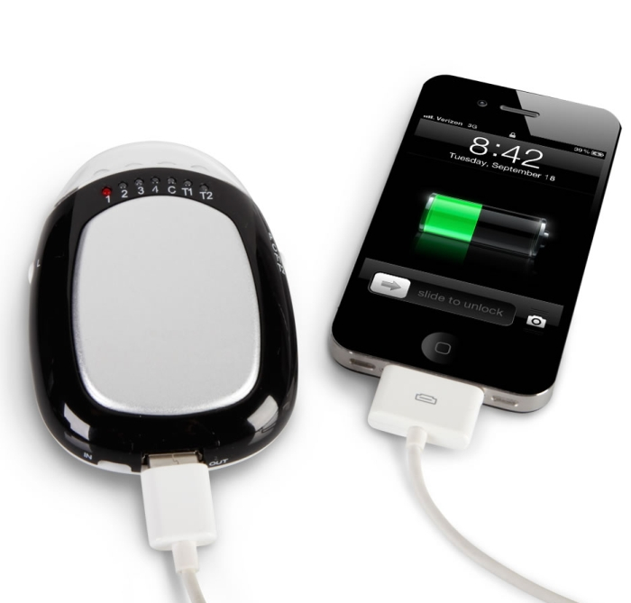 The Smartphone Charging Hand Warmer