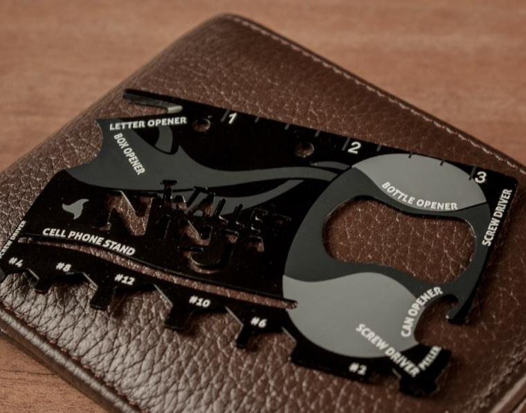 The Wallet Ninja 16-in-1 Multi-Tool