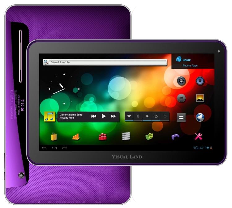 Visual Land Prestige 10-Inch Tablet
