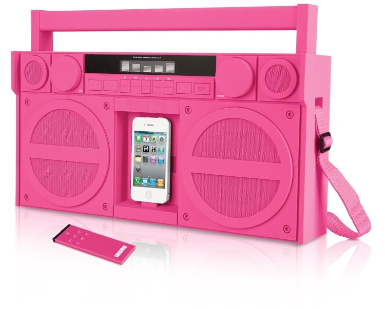 iPodiPhone Speaker Dock Boombox