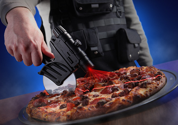 tactical_laser_guided_pizza_cutter_inuse