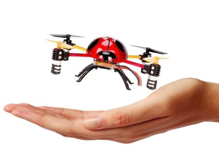 3D Tumbling Ladybug 4Axis 4Ch RC Remote Control Quad Copter RTF