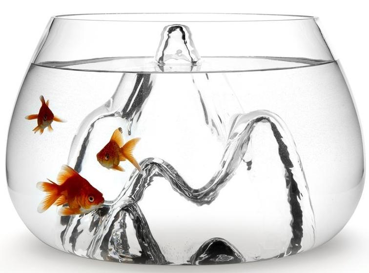 Aruliden Fishscape Fish Bowl Small