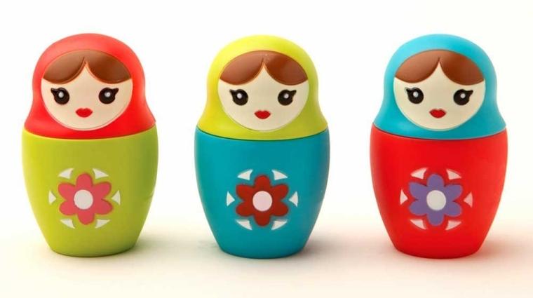 Babushka Russian Nesting Doll Novelty Tea Infuser