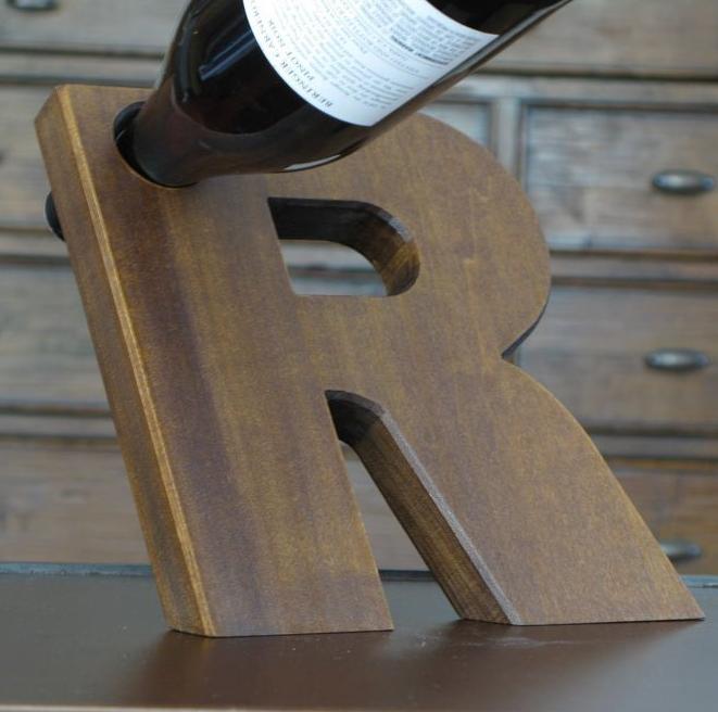 Balancing Wine Bottle Holder