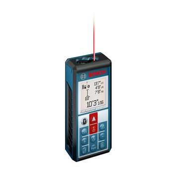 Bluetooth Enabled 330-Foot Lithium-Ion Laser Distance and Angle Measurer