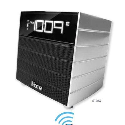 Bluetooth FM Clock Radio USB