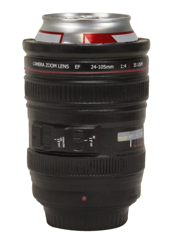 Can-Era- Camera Lens Koozie Drink Cooler