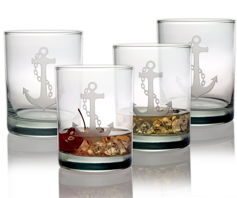 Double Old Fashioned Glasses