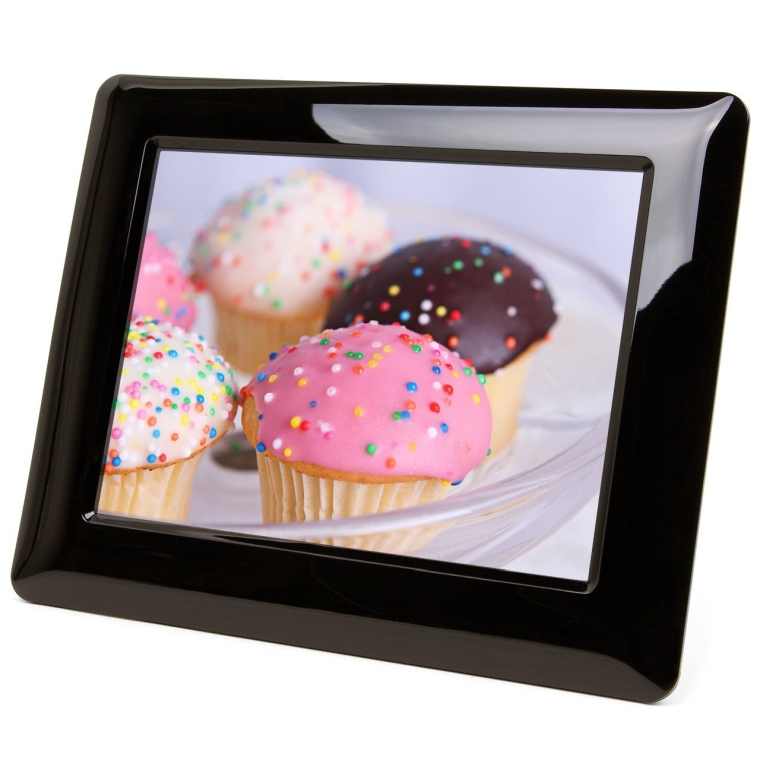High Resolution Digital Photo Frame With Auto OnOff Timer