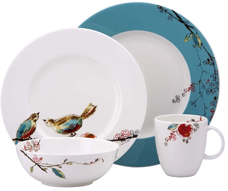 Lenox Simply Fine Chirp 4 Piece Place Setting