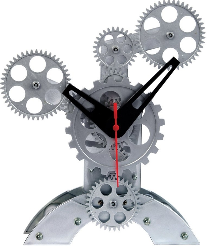 Maples Sales Moving Gear Table Clock