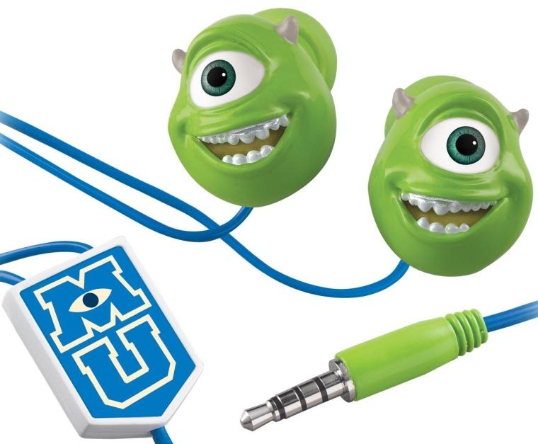 Monsters U Mike Wazowski Scare and Wear Earbuds