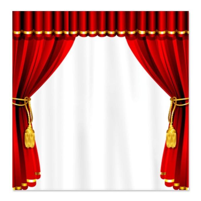 Movie Theater Shower Curtain