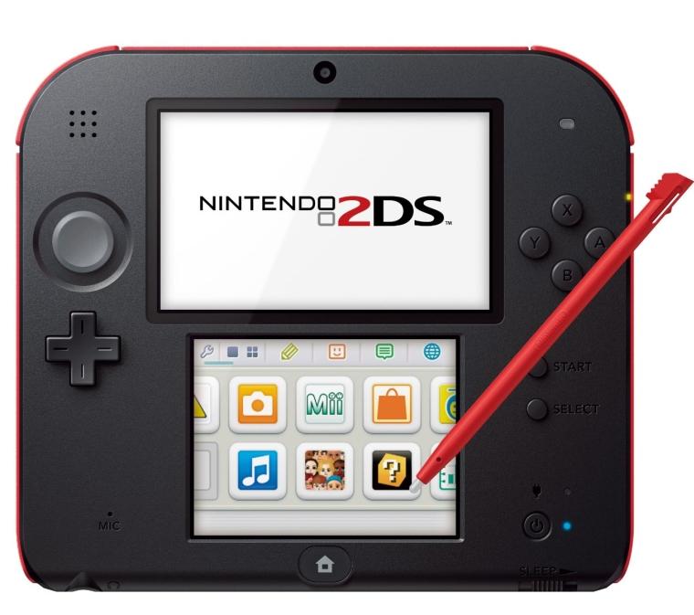 Nintendo 2DS Crimson Red
