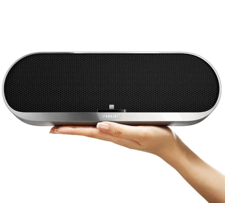 Philips Bluetooth Wireless Speaker with Fast Charging Lightning Dock