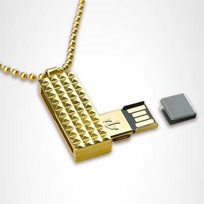 Pure Titanium USB Flash Drive