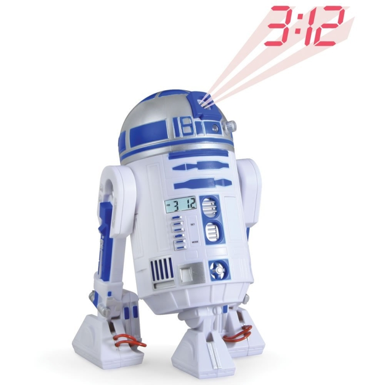 R2D2 LED Alarm Clock