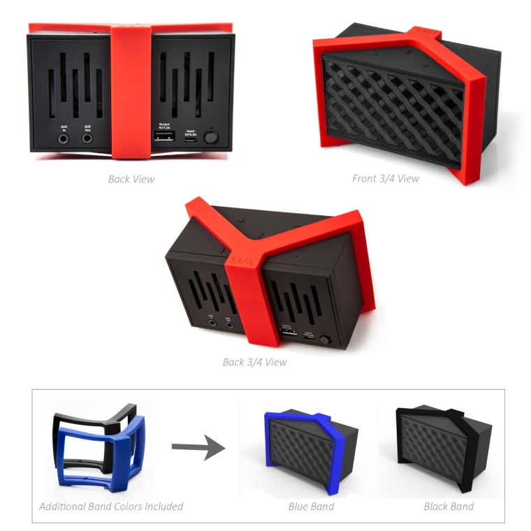 Rechargeable Bluetooth Speaker with NFC
