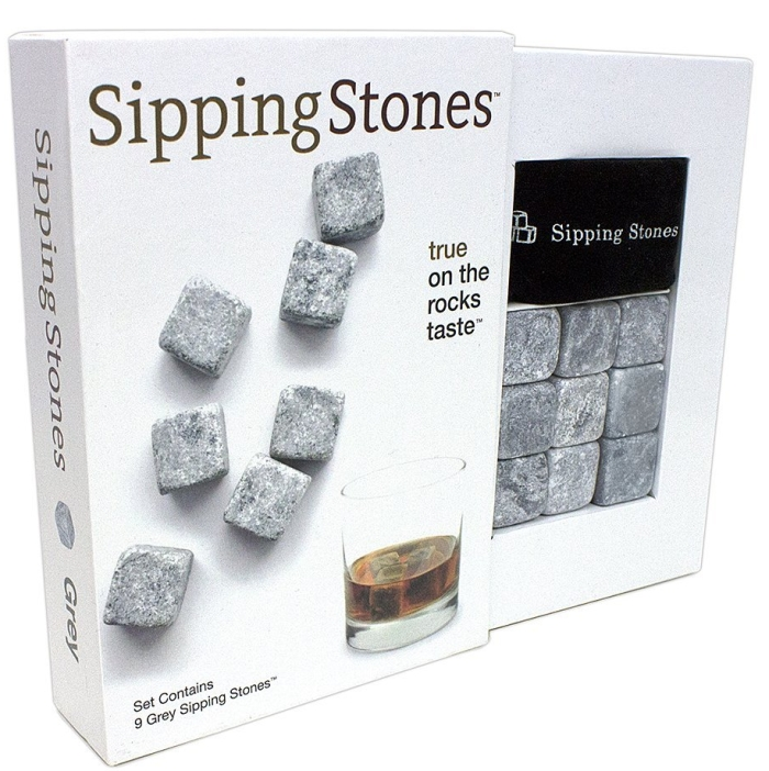 Set of 9 Grey Whisky Chilling Rocks