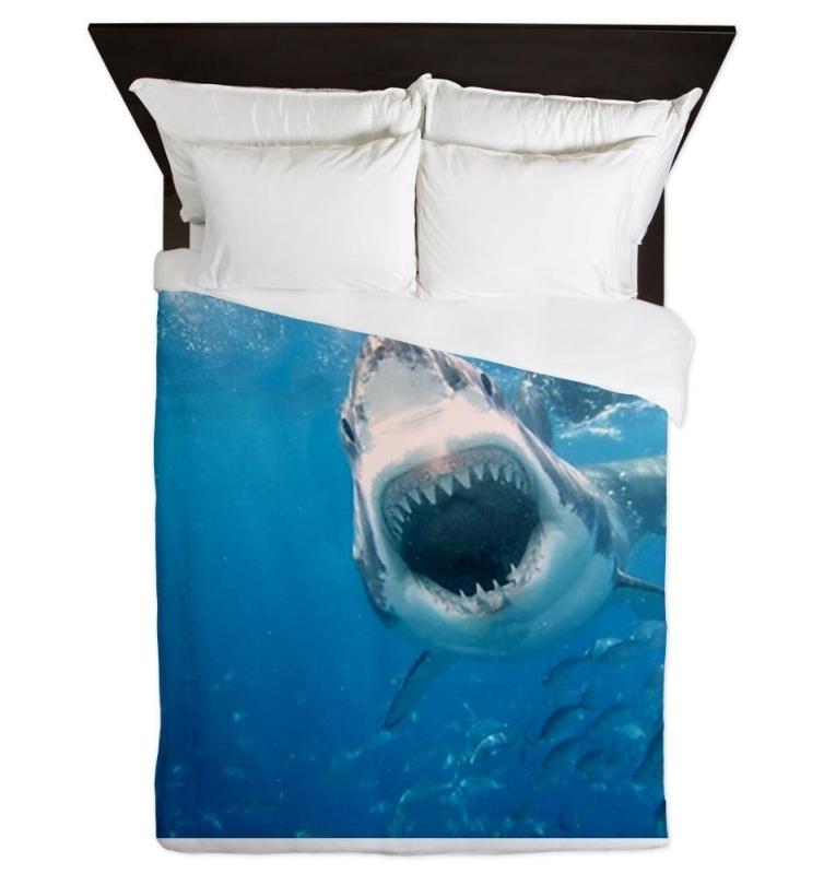 Sharks Queen Duvet
