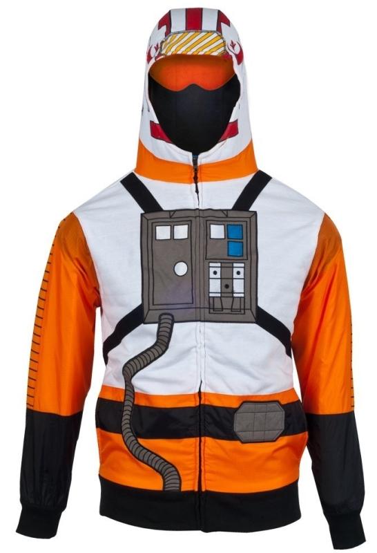 Star Wars XWing Flight Suit Costume Hoodie
