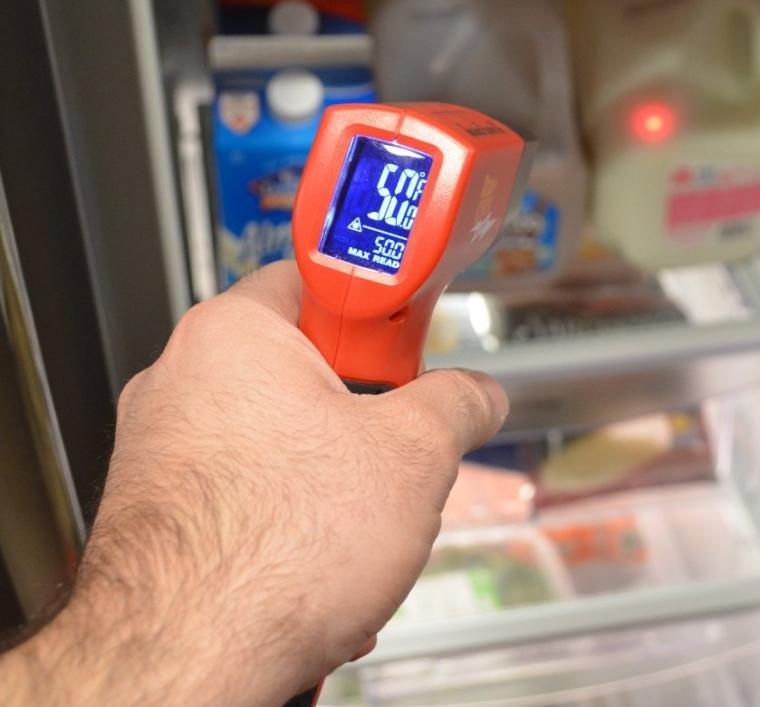 Wireless Infrared Surface Laser Thermometer Gun