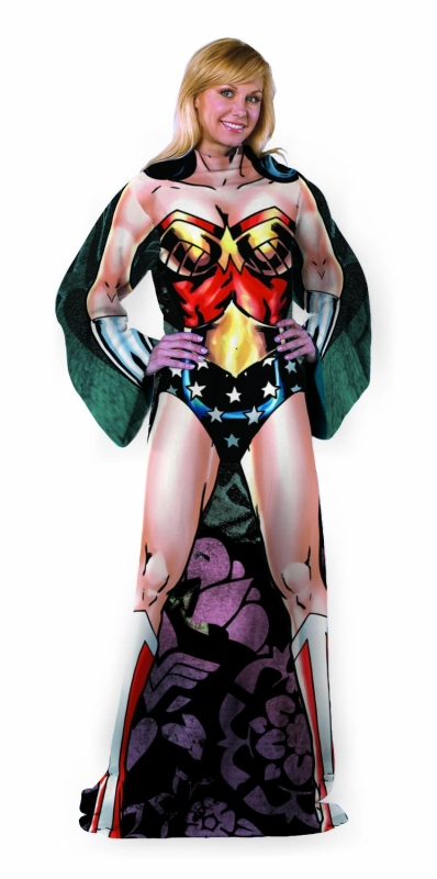 Wonder Woman Being Strong Costume Comfy Throw
