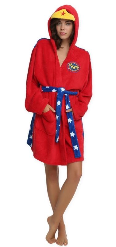 Wonder Woman Hooded Robe