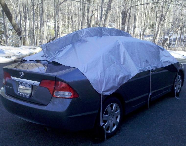 Auto Snow Shield' Car Cover