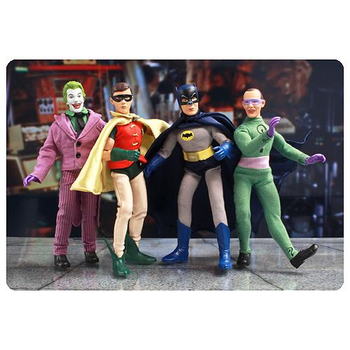 Batman Classic 1966 TV Series 1 8-Inch Action Figure Set
