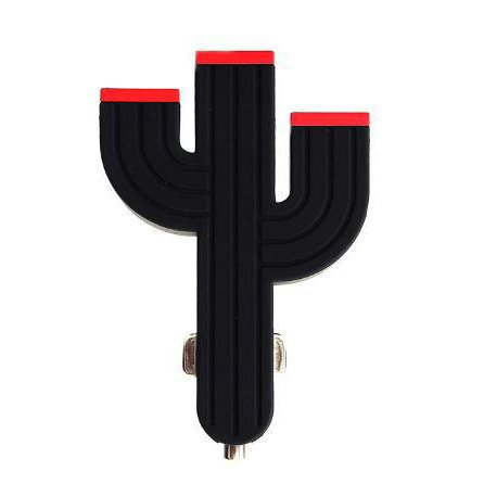 Cactus multi-port car charger
