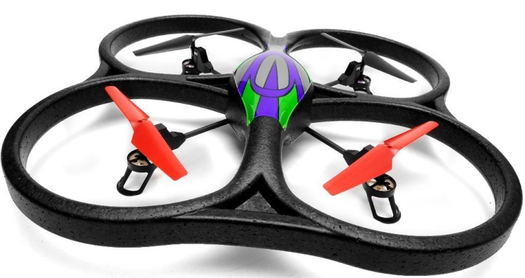 Cyclone UFO 4 Channel 6 Axis Gyro Quadcopter 2.4Ghz Ready to Fly