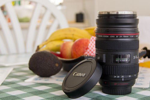 DSLR Camera Lens Coffee Tea Mug