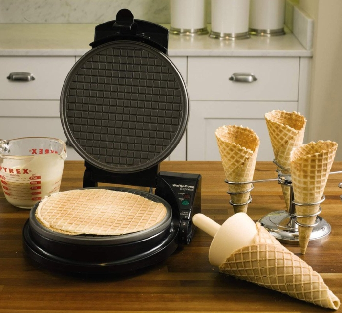 Deluxe Waffle-Cone Express Kit