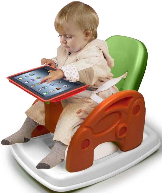 Digital iRocking Play Seat for iPad with Feeding Tray