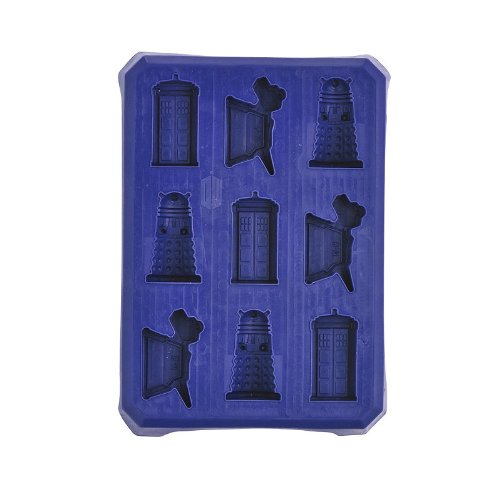Doctor Who Ice Silicone Ice Cube Tray