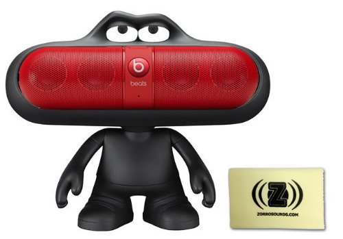 Dre Pill 2.0 Portable Speaker (Red) Bundle with Beats Pill Dude