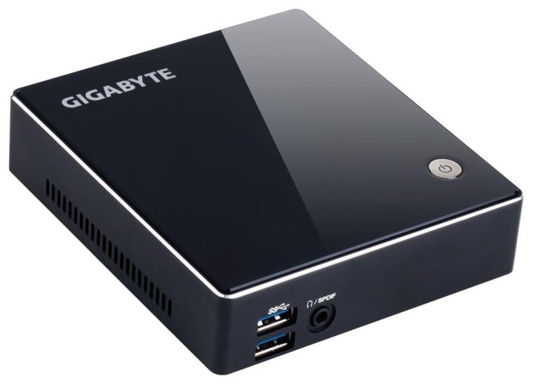 Gigabyte Brix Ultra Compact PC Intel i7-4500U 3.01.8 GHz Wi-FiBT4.0 Processor