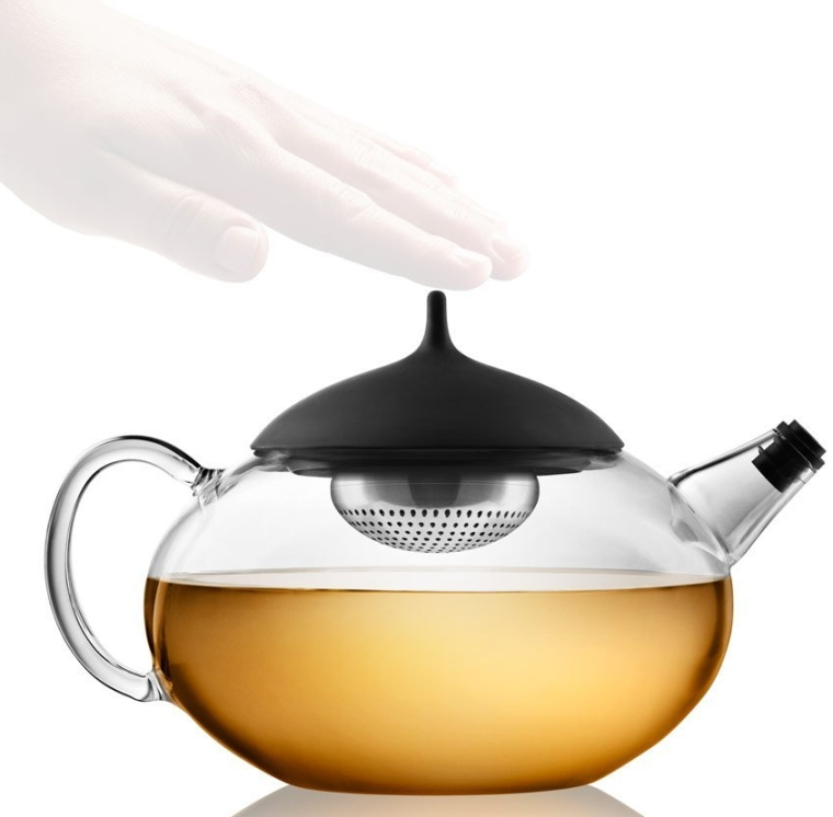 Glass Teapot with Built in Tea Egg