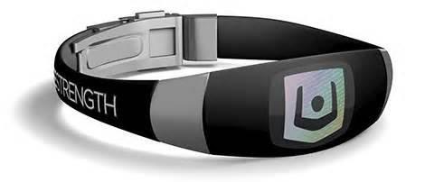 Lifestrength Wristband Elite Blackstainless