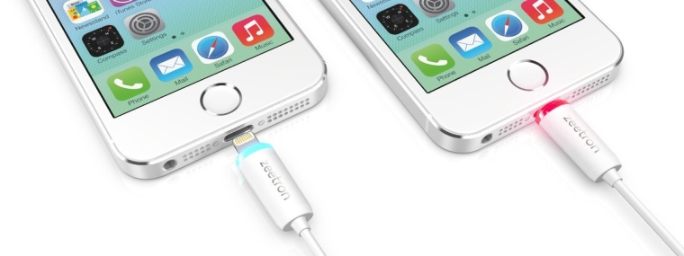 Light Up Lightning USB Cable for iPhone 5 5S 5C