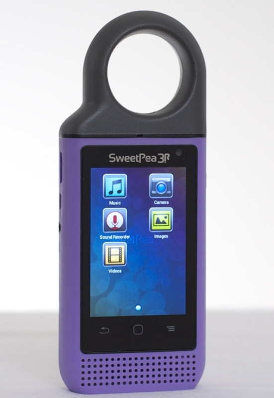 Mini-Tablet AudioVideo Player for Kids with Android (Violet)