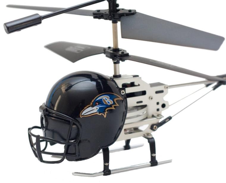 NFL Remote Control Helmet Helicopter